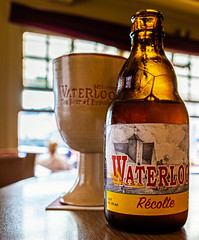 A Refreshing Waterloo Recolte ( French Farmhouse Session Beer - 6%) t'Klein Venetie - Bruges  (Ricoh GRIII 28mm APS-C Compact) (1 of 1) (markdbaynham) Tags: bruges brugge bruggen brugse brugsezot zot zotbruin architecture city citybreak cityscape citylife beer beerbottle label beerbottlelabel closeup lowlight highiso flemish flemishcity flanders westflanders building historic historiccity street stonework structure statue monument birra cerveza urban urbanlife europeancity metropolis medievalcity ricohgr ricohdigital ricohgriii ricohcompact ricoh grdiii grd3 grdigital 28mm f28 prime primelens fixedlens fixedlenscompact highendcompact degarre stamineedegarre pub drink church churchourlady bierpaleis bottle belgiumbeer belgiumcity