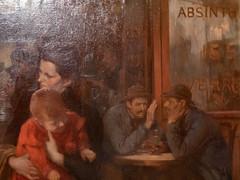 """Jules Adler : """"La mère"""" (bpmm) Tags: julesadler lapiscine roubaix art expo exposition musée peinture"""