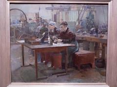 """Jules Adler """"Atelier de taille de faux diamants"""" (bpmm) Tags: julesadler lapiscine roubaix art expo exposition musée peinture"""