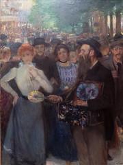 """Jules Adler : """"Soir d'été à Paris"""" (bpmm) Tags: julesadler lapiscine roubaix art expo exposition musée peinture"""