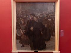 """Jules Adler : """"Matinée au faubourg"""" (bpmm) Tags: julesadler lapiscine roubaix art expo exposition musée peinture"""