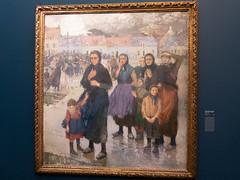 """Jules Adler : """"Gros temps au large, matelotes d'Etaples"""" (bpmm) Tags: julesadler lapiscine roubaix art expo exposition musée peinture"""