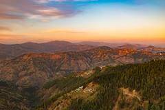 Sunset Himalayas (WilliamJW46) Tags: india mountains himalayas kinnaur himachal pradesh sunset sky forest green travel workplace