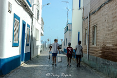 Friends (TewRog) Tags: albuferia tavira friends beaches portugal trees river bridge rocks sunlight shadows water bathe