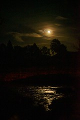 Moonlight river reflection (funkydeez2000) Tags: free celestial light show river reflections water romance love