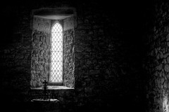 LightSource (Tony Tooth) Tags: nikon d600 nikkor 50mm f18g window chiaroscuro shadows church allsaints ballidon derbyshire bw blackandwhite monochrome hdr