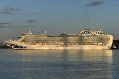 Crown Princess -- Hound Point - 07-09-19 (MarkP51) Tags: sea water sunshine boat nikon ship sunny vessel d500 d7200 nikon24120f4vr nikon70200f4vr nikon200500f56vr nikonafp70300fx scotland firthofforth cruiseliner crownprincess houndpoint