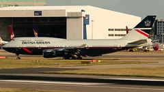 British Airways (Landor Retrojet) Boeing 747-436 G-BNLY (StephenG88) Tags: londonheathrowairport heathrow lhr egll 27r 27l 9r 9l boeing airbus august25th2019 25819 myrtleavenue renaissanceheathrow britishairways ba baw speedbird landor retrojet 747 744 747400 747436 gbnly