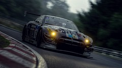 Cold morning on the Nurburgring (Jérémy C. (Kodje)) Tags: gtsport gran turismo sport voiture car playstation ps4 photomode automotive gtp gtplanet granturismo nissan gtr nismo gt3 schulze nürburgring nordschleife race allemagne germany matin froid morning cold 2013