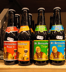 Collection of St Bernardus Beers - Bruges (Ricoh GRIII 28mm APS-C Compact) (1 of 1) (markdbaynham) Tags: bruges brugge bruggen brugse brugsezot zot zotbruin architecture city citybreak cityscape citylife beer beerbottle label beerbottlelabel closeup lowlight highiso flemish flemishcity flanders westflanders building historic historiccity street stonework structure statue monument birra cerveza urban urbanlife europeancity metropolis medievalcity ricohgr ricohdigital ricohgriii ricohcompact ricoh grdiii grd3 grdigital 28mm f28 prime primelens fixedlens fixedlenscompact highendcompact degarre stamineedegarre pub drink church churchourlady bierpaleis bottle belgiumbeer belgiumcity