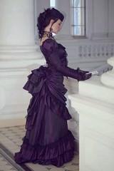 73791b955f1a352d0a4e5f8cab258610 (merchant2046) Tags: leather taffeta prom dress strapless gown corset history historical period drama