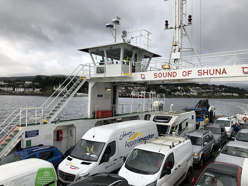 Aboard the Dunoon ferry