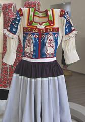 Oaxaca Mexico Blouse Mixtec Textiles (Teyacapan) Tags: museum mexican oaxaca tijaltepec blusa guadalupe ropa indumentaria clothing mixtec