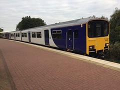 150148 (Walkden) (Salford York Street) Tags: northern arrivanorthern arriva class150 class1501 150148 walkden ukrailscene dmu arn