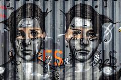 Portrait. Paris, septembre 2019 (Bernard Pichon) Tags: paris france bpi760 conteneur peinture portait streetart fr75