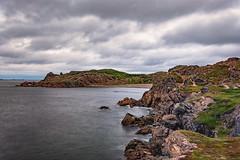 twillingate area coastline (-liyen-) Tags: twillingate newfoundland coastline rocks rocky canada atlanticcanada ocean atlanticocean cloudy longexposure wild rugged eastcoast fujixt2 landscape seascape