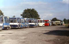 The way we were .. (Renown) Tags: buses coaches leyland aec ford bedford plaxton vanhool duple willowbrook reliance leopard yrq vam r111 psu3 archwaymotors shifnal shropshire