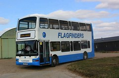 Tollesbury Outstation (Chris Baines) Tags: flagfinders volvo b7tl plaxton president lx03 nhg tollesbury outstation