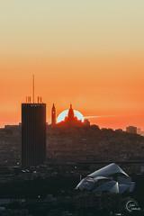 Sunrise on Montmartre 🔥🔥🔥 (Julien CHARLES photography) Tags: france montmartre paris soleil sunrise