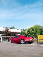 4C (Mattia Manzini Photography) Tags: alfa romeo alfaromeo 4c supercar supercars cars car carspotting nikon d750 automotive automobili auto automobile italy italia red sportscar bestofitaly