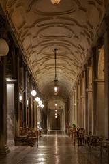 (nadiaorioliphoto) Tags: venice venezia porticato lights night notturna city città portici loggiato