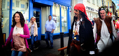 Avast Ye Landlubbers! (Owen J Fitzpatrick) Tags: ojf people photography nikon fitzpatrick owen pretty dalkeylobsterfestival ireland editorial use only ojfitzpatrick dublin city tamron candid joe candidphotography candidphoto unposed natural attractive beauty beautiful woman female lady j along photoshoot street dslr digital streetphoto streetphotography dublinshoot ladies girl girls irish portrait streetshoot women photo photograph capture beauties candids photos captures portraits photographs face d3100 dalkey castle festival lobster hair pirate piracy pirates raid swashbuckler captain skull necklace accessories dalkeylobsterfest crossbones chasing pavement