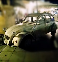 Citroen 2cv - Aegina Town (ujcwgaai91) Tags: france citroen 2cv aegina greece