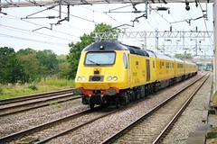 Flying Banana 43014 & 43062 (Powerhaul70Pey) Tags: theflyingbanana 43014 43062 actonbridge cheshire 1q26 craigentinny crewe networkrail freight train locomotive railway rail railroad