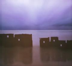 Rusty coast (Tomas Ruginis) Tags: baltic landscape landscapephotography pinhole 66 mediumformat 120 velvia 50 expired seascape water rusty iron sky baltija peizažas lithuania lietuva sea