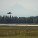 A U.S. Air Force F-35A Lightning II prepares to land at Eielson Air Force Base, Alaska