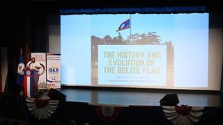 History & Evolution of the Belize Flag