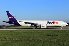 FedEx Express  Boeing 777-FS2 N853FD (widebodies) Tags: liege lüttich lgg eblg widebody widebodies plane aircraft flughafen airport flugzeug flugzeugbilder fedex express boeing 777fs2 n853fd
