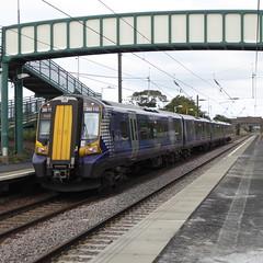 380113 at Wallyford (18/9/19) (*ECMLexpress*) Tags: abellio scotrail class 380 desiro emu 380113 wallyford ecml