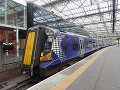 380113 at Edinburgh (18/9/19) (*ECMLexpress*) Tags: abellio scotrail class 380 desiro emu 380113 edinburgh waverley ecml