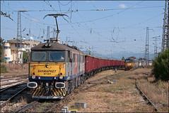 87017, Iliyantsi Yard (BG), 13/09/19 (bontybermo402) Tags: 87017 iron duke bulmarket bulgaria iliyantsi yard british rail scrap rsco rolling stock company brc bzk 87007 87033 burgas