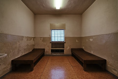 Cell for Two (Ralph Graef) Tags: cell prison jail symmetry ddr window depressing confinement detainment inside interior history