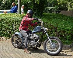 Envy.. (Harleynik Rides Again.) Tags: chopper dude shovelhead harleydavidson incognito backshot motorcycle bike rider harleynikridesagain envy