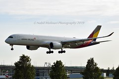 Asiana Airlines HL7771 Airbus A350-941 cn/198 @ EGLL / LHR 16-05-2019 (Nabil Molinari Photography) Tags: asiana airlines hl7771 airbus a350941 cn198 egll lhr 16052019