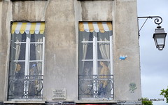Ventanas imaginarias (PhotoLanda) Tags: fujifilmxt1 xf18135mm paris francia france lutetiaparisii parisii parisien parigots îledefrance photolanda ventana window fenetre fabiorieti ruequincampoix
