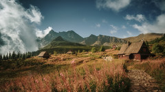 Hala Gasienicowa in Tatra mountains (tkjpics) Tags: sony a7r3 a7riii a7 zeiss loxia 21mm landscapes loxia2821 cloud clouds morning mirrorless mountainscape mountains loxia21 landscape