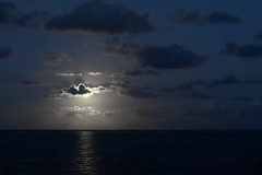 at night, full moon and indian ocean (rol-and) Tags: africa night mauritius landscape east moon loxia colour clouds sony full blue indian ocean general sea loxia2485 e island zeiss seascape nightscape coast fullframe white