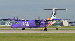Flybe G-PRPM (jamesEGGD) Tags: flybe gprpm bombardier dhc8 q400 man