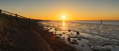Day 261: Indian Summer Sunset? (Howie1967) Tags: great yarmouth breydon water norfolk broads mudflats bank river