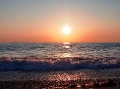 Waves (Alexx053) Tags: sun wave sunset sea em10iii olympus sochi