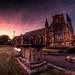 St. Mary's Church Sunset
