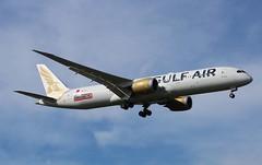A9C-FE Boeing 787-9 Dreamliner Gulf Air (R.K.C. Photography) Tags: a9cfe boeing 7879 b787 gulfair gf gfa bahrain aircraft aviation airliner dreamliner london england unitedkingdom uk londonheathrowairport 09l lhr egll canoneos750d