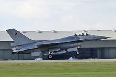 3880 Belgian F16 (photozone72) Tags: yeovilton yeoviltonairday canon canon7dmk2 canon100400f4556lii 7dmk2 aircraft airshows airshow aviation belgianairforce belgian f16 jet