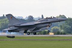 3878 Belgian F16 (photozone72) Tags: yeovilton yeoviltonairday canon canon7dmk2 canon100400f4556lii 7dmk2 aircraft airshows airshow aviation belgianairforce belgian f16 jet