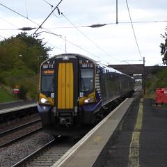 380113 arrives at Wallyford (18/9/19) (*ECMLexpress*) Tags: abellio scotrail class 380 desiro emu 380113 ecml wallyford