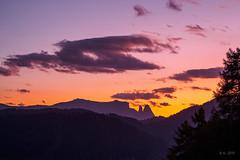 Holy Mountain... (Ody on the mount) Tags: anlässe berge dolomiten em5ii fototour gipfel himmel mzuiko40150 omd olympus schlern sonnenuntergang urlaub wolken clouds mountains peaks sky sunset